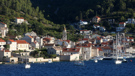 The town of Vis on the Island of Vis