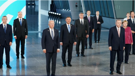 Leaders gathered for the NATO summit in Brussels