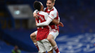 Emile Smith Rowe, Pierre-Emerick Aubameyang