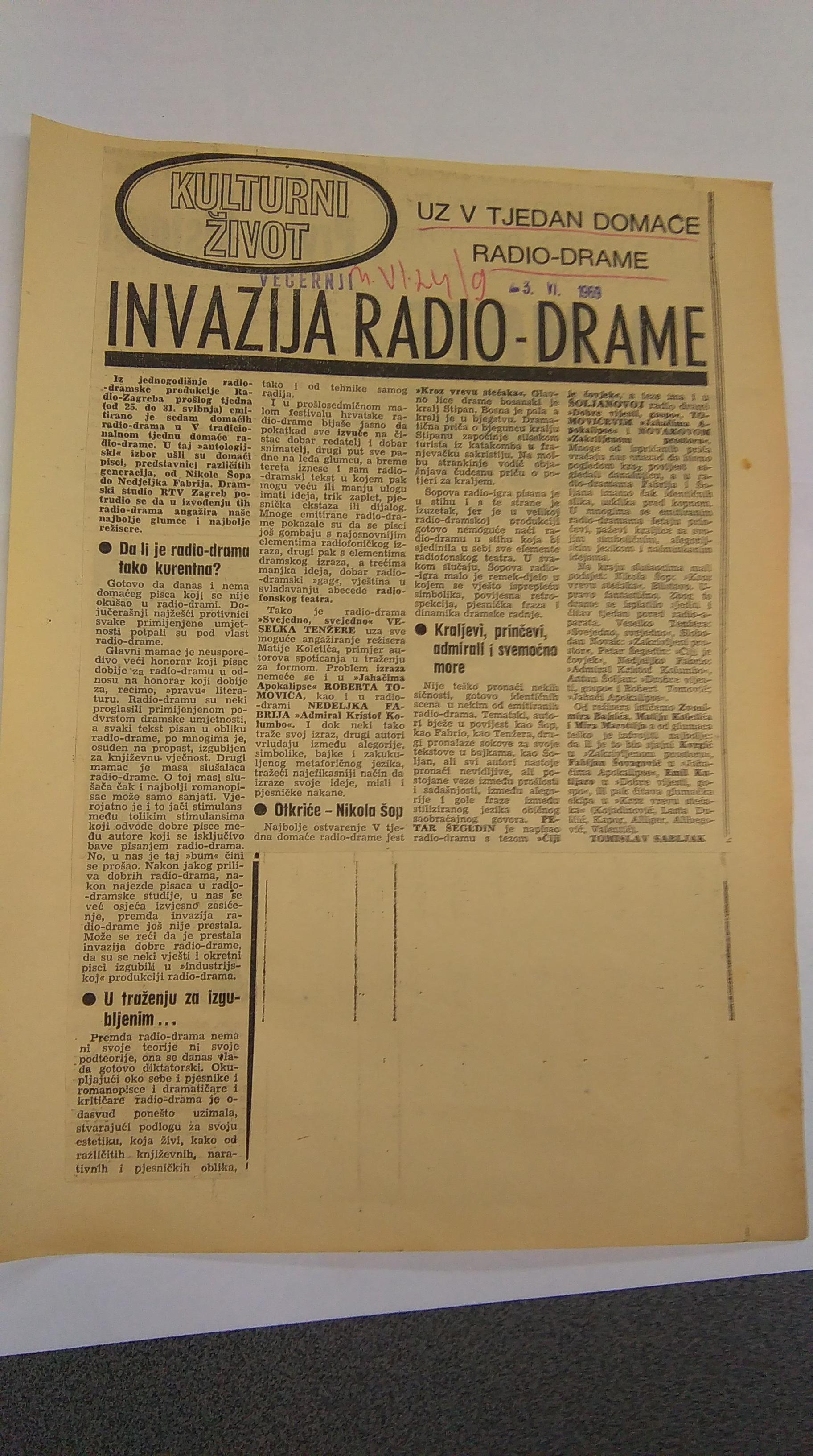Peti Tjedan radiodrame